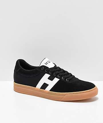 HUF Soto Black, White & Gum Skate Shoes