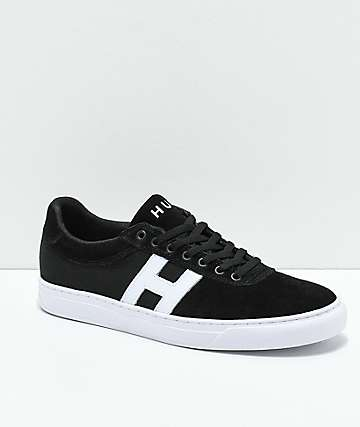 HUF Soto zapatos skate en negro y blanco