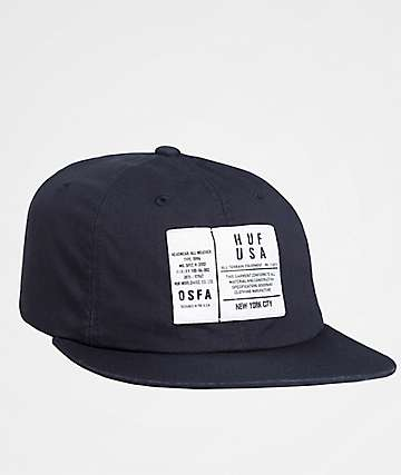 HUF Spec Midnight Blue Six Panel Hat