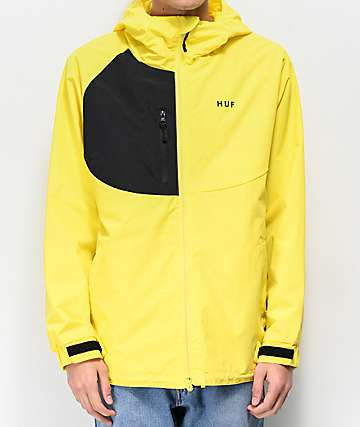 HUF Standard Shell 2 Yellow Windbreaker Jacket