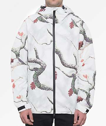 HUF Standard Shell White Windbreaker Jacket