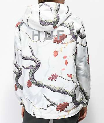 HUF Standard chaqueta cortavientos blanca