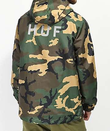 HUF Standard chaqueta cortavientos de camuflaje