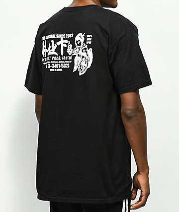 HUF Stick n Poke Black T-Shirt