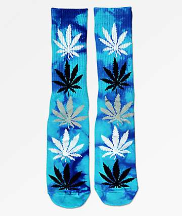 HUF Strain Plantlife Crew Socks