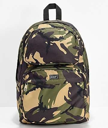 HUF Tompkins mochila de camuflaje