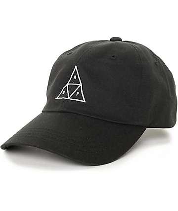 HUF Triangle gorra béisbol negra