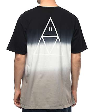 HUF Triple Triangle camiseta en gradiente