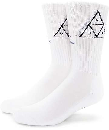HUF Wolf Black & White Crew Socks
