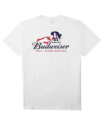 HUF x Budweiser Heritage White T-Shirt