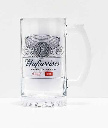 HUF x Budweiser jarra de cerveza