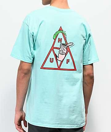 HUF x Popeye Spinach Mint T-Shirt