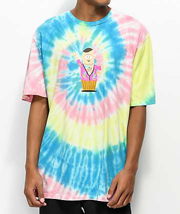 HUF x South Park Big Al camiseta con efecto tie dye