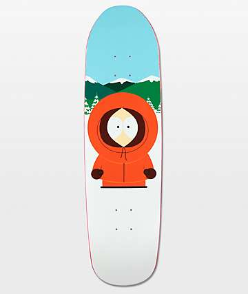 "HUF x South Park Dead Kenny 8.5"" Skateboard Deck"
