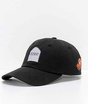 HUF x South Park Dead Kenny gorra strapback en negro