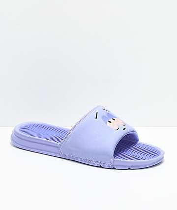 HUF x South Park Towelie Purple Slide Sandals