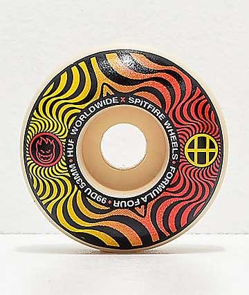 HUF x Spitfire Formula Four Swirl 53mm 99a ruedas de skate