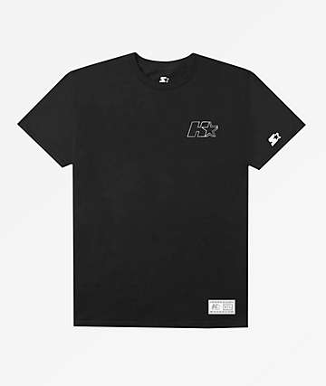 HUF x Starter Lock Up Black T-Shirt