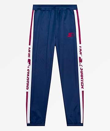 HUF x Starter Navy Track Pants