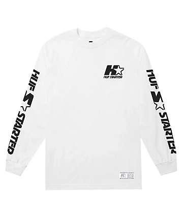 HUF x Starter White Long Sleeve T-Shirt