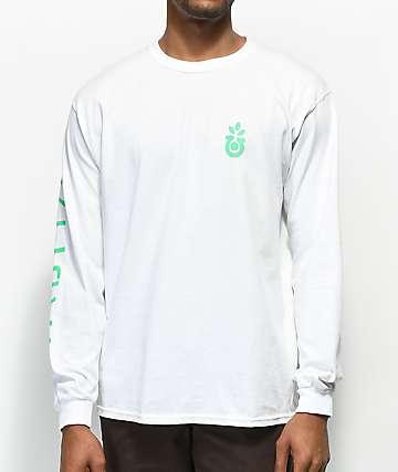 Habitat Bloom Traces camiseta blanca de manga larga