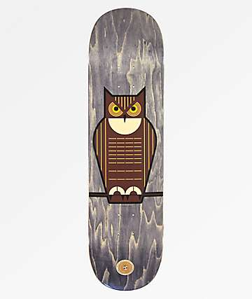 "Habitat Harper Flo Great Horned Owl 8.375"" Skateboard Deck"