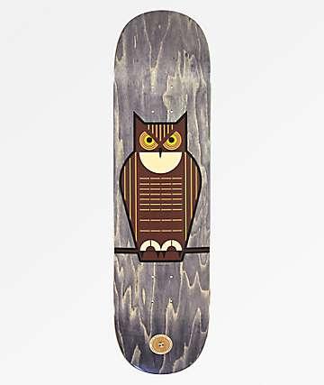 """Habitat Harper Flo Great Horned Owl 8.375"""" tabla de skate"""
