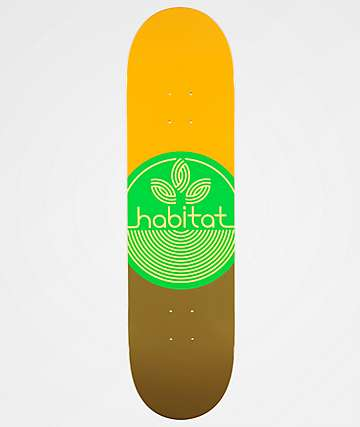 "Habitat Leaf Dot 8.25"" tabla de skate"