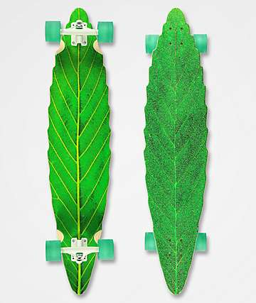Habitat Leaf Lines longboard verde