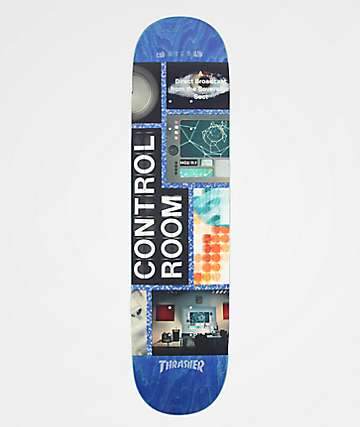 "Habitat x Alien Workshop Control Room 7.75"" Skateboard Deck"