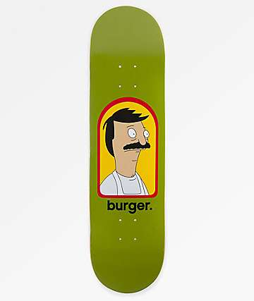 "Habitat x Bob's Burgers Burger 8.25"" Skateboard Deck"
