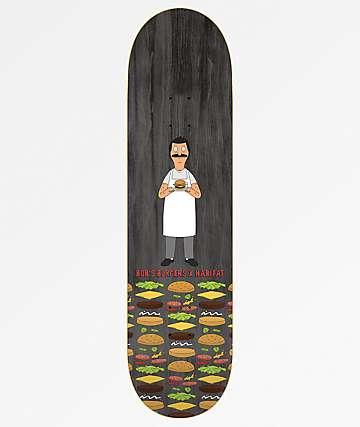 "Habitat x Bob's Burgers Woodgrain 8.25"" Skateboard Deck"