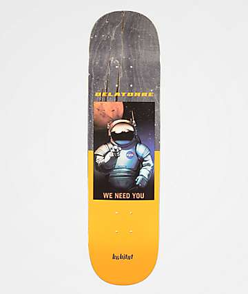 "Habitat x NASA Delatorre 8.18"" Skateboard Deck"
