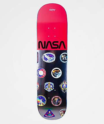 "Habitat x NASA Logo Array 8.125"" Skateboard Deck"