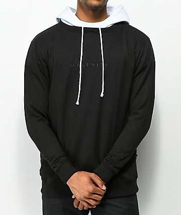 Halfwits HSR Black & White Knit Hoodie