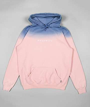Halfwits High Fade Blue & Pink Hoodie