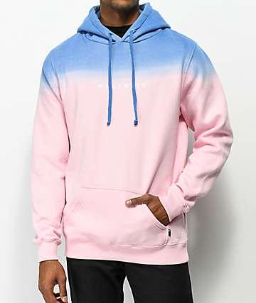 Halfwits High Fade Pink & Navy Hoodie