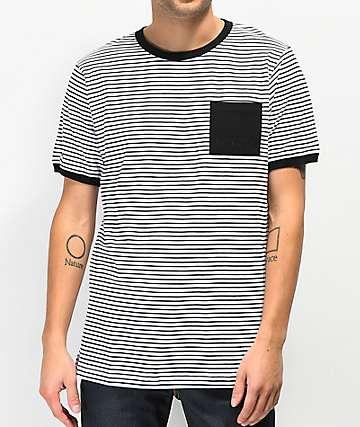 Halfwits Kin Black & White Stripe T-Shirt