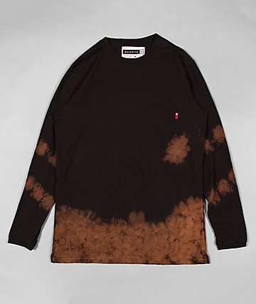 Halfwits Lummox Pocket Bleached Black Long Sleeve Shirt