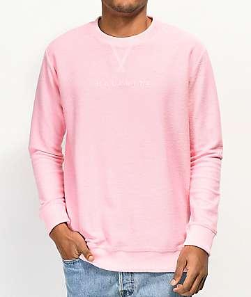 Halfwits Mosey sudadera rosa con cuello redondo