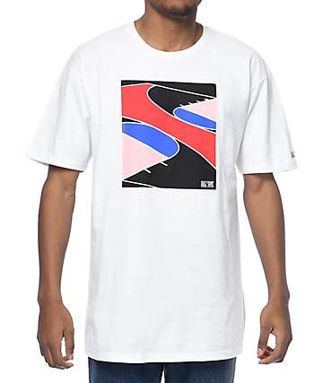 Hall Of Fame Home Court White T-Shirt