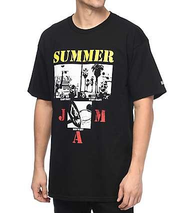 Hall Of Fame Summer Jam camiseta negra