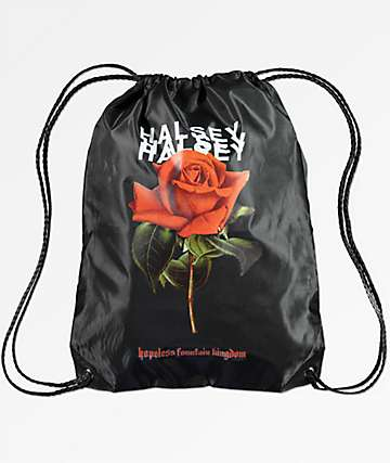 Halsey Red Rose Cinch Bag