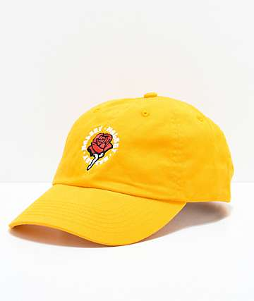 Halsey Red Rose Yellow Baseball Hat
