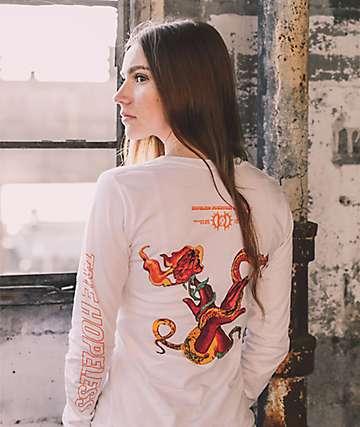 Halsey Snake Hands camiseta blanca de manga larga