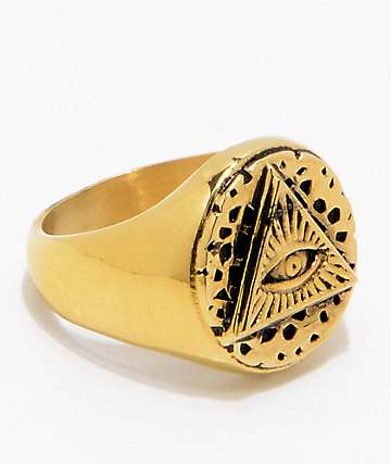 Han Cholo All Seeing Eye anillo