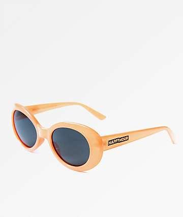 Happy Hour Beach Party Orange & Smoke Sunglasses