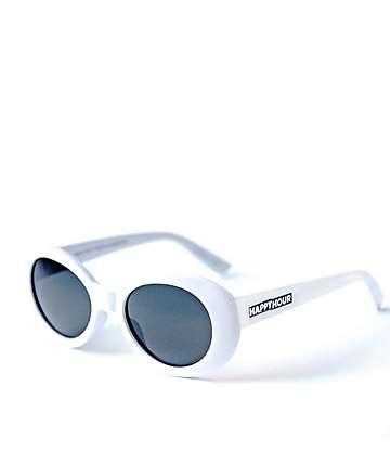 Happy Hour Beach Party White & Smoke Sunglasses