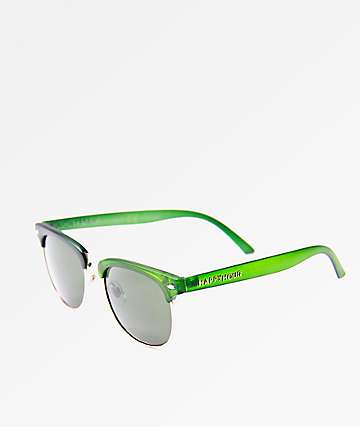 Happy Hour G2 Get Buck Frost Green Sunglasses