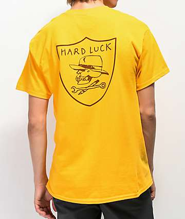 Hard Luck Hard Six Yellow T-Shirt